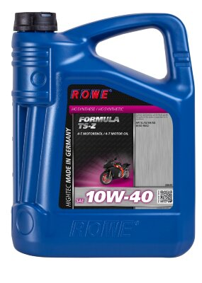 ROWE 4Т HIGHTEC FORMULA 10W-40 TS-Z (5л) Масло моторное