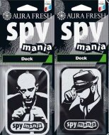 AURA FRESH, SPY MANIA Deck, ароматизатор картон